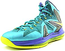 e28ae40b0896 Nike LeBron X  Shattered Prism  Customs – Hooped Up