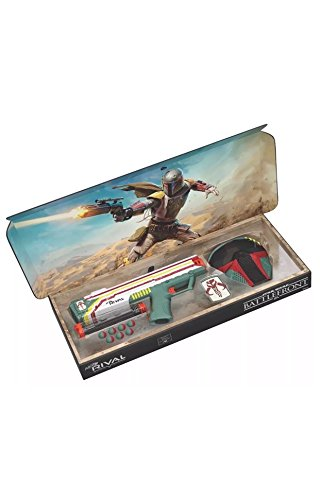Hasbro Nerf Rival Apollo XV-700 - Star Wars Exclusive Edition Battlefront II Mandalorian Boba Fett Edition Blaster with Face Mask and Patch