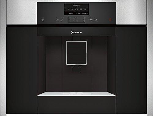 Neff CKS 1561 N Einbau-Kaffeemaschine / 59,60 cm / Optimale Brühtemperatur und volles Aroma mit dem SensoFlow System / edelstahl