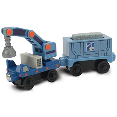 Chuggington Wooden Railway Quarry Cars by TOMY