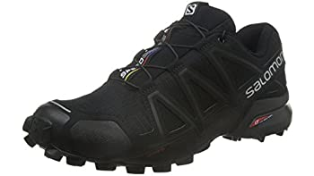 Salomon Men's Speedcross 4 Trail Runner, Black A1u8, 10 M Us 6