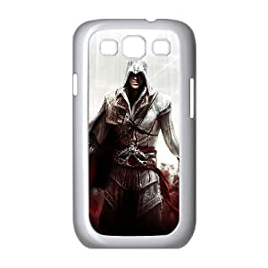 Ezio Assassins Creed Ii Game Samsung Galaxy S3 9 Cell Phone Case White Customized Toy pxf005_9712495