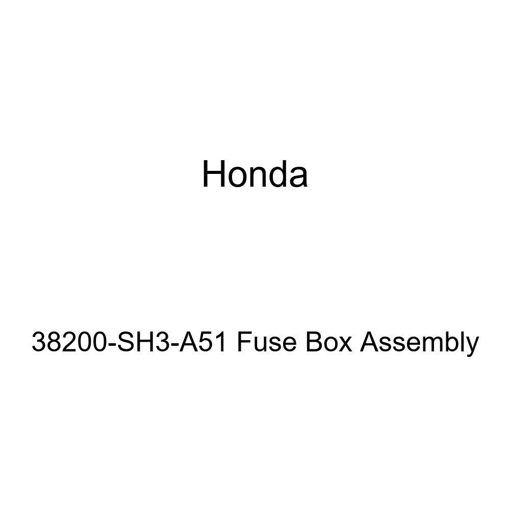 Amazon.com: Genuine Honda 38200-SH3-A51 Fuse Box embly ... on honda firing order, honda bumper cover, honda power window switch, honda accord wiring diagram, honda dome light, honda car fuses, honda cargo cover, honda timing cover, honda window track, honda ignition relay, honda super charger, honda diagnostic codes, honda trunk release, honda main fuse, honda fuses diagram, honda sun visor, honda fan belt, honda clutch line, honda dash pad, honda brake proportioning valve,