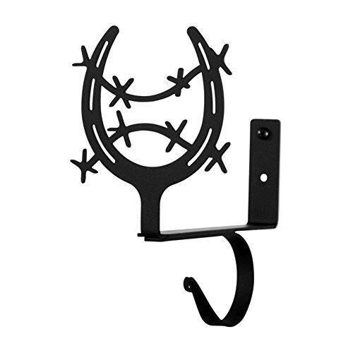 Wrought Iron Horse Shoe Shelf Brackets ()