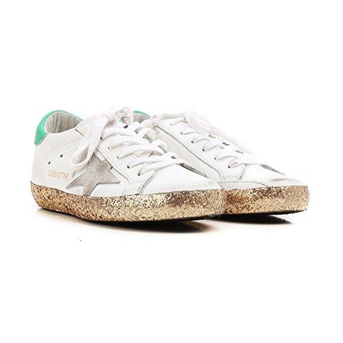 Golden Goose Deluxe Merkevare Super Sneaker Kvinner Størrelse 39 (8,5 Oss) G31ws590.d53
