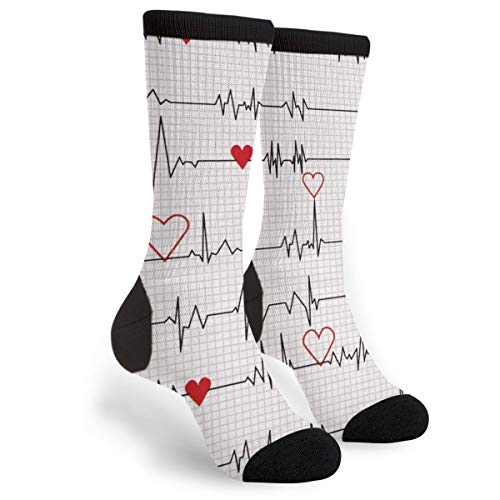 Underwear & Sleepwears Reasonable Funny Lovers Socks Novelty Happy Mens Womens Smile Heart Shaped Emoji Patterned Long Sock Novelty Comb Cotton Dress Sock Utmost In Convenience