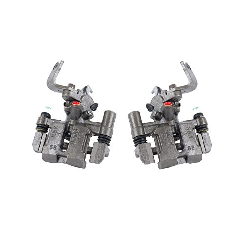 CCK02457 [ 2 ] REAR Premium Grade OE Semi-Loaded Caliper Assembly Pair Set