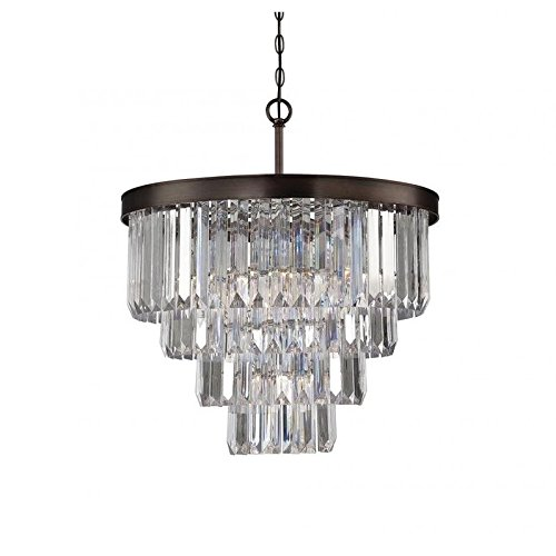 Twenty Six Light Chandelier - Savoy House 1-9800-6-28, Tierney 6-Light Chandelier, Burnished Bronze
