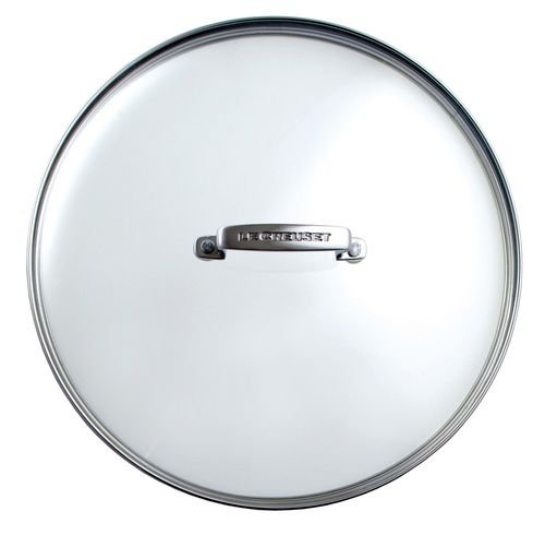 Le Creuset Les Forgees Glass lid diam.18 cm Transparent