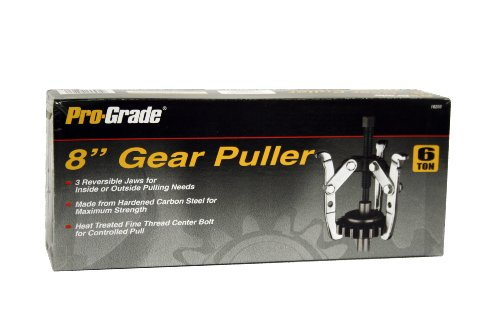 Pro-Grade 18203 8-Inch Adjustable combination 2 & 3 Jaw Gear -