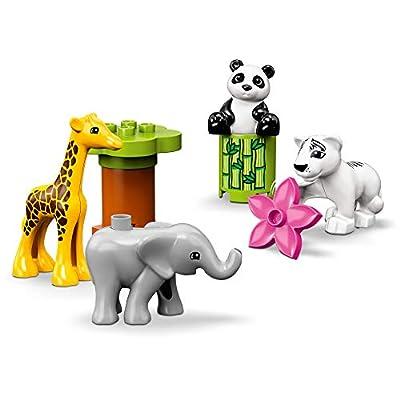 LEGO DUPLO Town Baby Animals 10904 Building Bricks (9 Pieces): Toys & Games