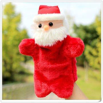 Santa - Pillows & Chions - Creative Christmas Santa Cla Gloves Dolls Puppet Plh Toys Role Play Dolls Santa Cla Father Christmas Yule Christmastide Part - 1PCs