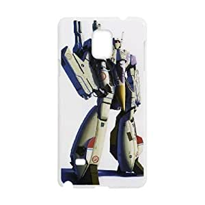 HD exquisite image for Samsung Galaxy Note 4 Cell Phone Case White vf 1 valkyrie macross Popular Anime image WUP0716265
