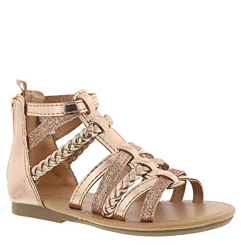 fa530b6f883 carter s Girl s Fenna Braided Gladiator Sandal