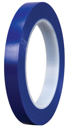 3M 6409 0.75 in. Plastic Tape Scotch Plastic Tape 471 Blue, 0.75 in. X 36 Yd