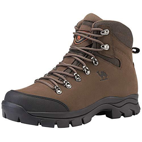 CAMEL CROWN Chaussures de Randonnée Homme Maintien Confort Respirant, Trekking Alpinisme Bottes de Randonnée Montagne… 1