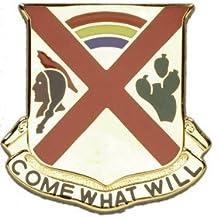 108th Cavalry Unit Crest (Come What Will)