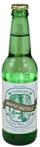 (Vermont Sweetwater All Natural Glass Bottle Soda (Sparkling Maple Seltzer))