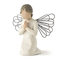 Angel of Prayer, sculpted hand-painted figure