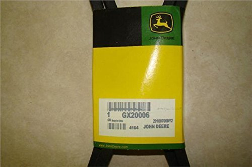 GX20006 John Deere Transmission Belt for 100 series mowers 115 L120 D130 155C OEM