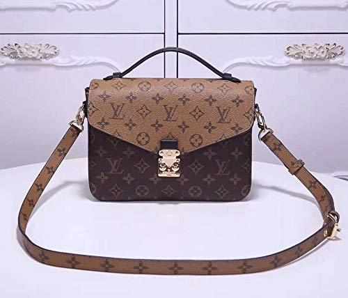 Dominic Abraham Pochette CrossbodyHandbag Tote Bag Postman package Shoulder Bag (Two-tone)