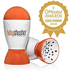 The perfect gift for your next baby shower and any first-time parent! Safely stop your baby from crying with Baby Shusher, The Sleep Miracle! This revolutionary tool for parents uses an ancient, doctor-tested and approved rhythmic shushing te...