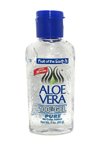 Price comparison product image Fruit Of The Earth Aloe Vera 100% Gel, 2 oz
