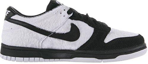Nike - Dunk Low Prm QS BG - 747072101 - Farbe: Schwarz-Weiß - Größe: 35.5