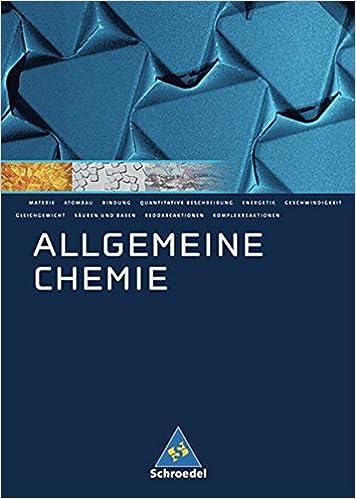 ALLGEMEINE CHEMIE EBOOK