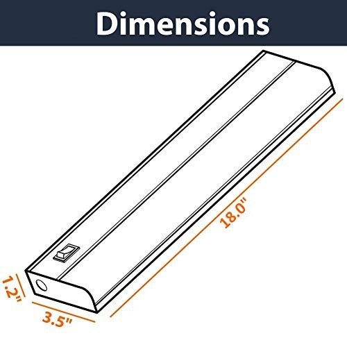 LED-Under-Cabinet-Lighting-3000K-Warm-White-Metal-Base-Frost