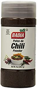 Badia Chili Powder, 9-Ounce (Pack of 6)