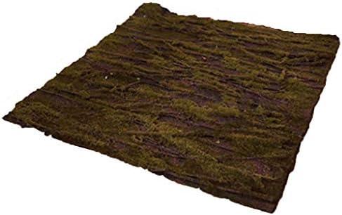 波状のツイルの人工的なコケの人工的な草5piecesの緑の装飾の内壁のサイズ50cm×50cm (Size : 1pack)