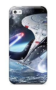 Flexible Tpu Back YY-ONE For Iphone 5c - Star Trek