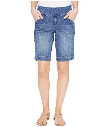 ブランチ知覚的インタラクション[ジャグジーンズ] Jag Jeans レディース Ainsley Pull-On Bermuda Comfort Denim in Weathered Blue パンツ [並行輸入品]