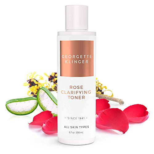 (Georgette Klinger Rose Clarifying Face Toner - Alcohol & Fragrance Free Facial Astringent to Deep Clean, Hydrate and Soften Skin for a Clear, Even Complexion)