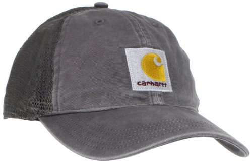 (Carhartt Men's Buffalo Cap,Gravel,OFA, One size )