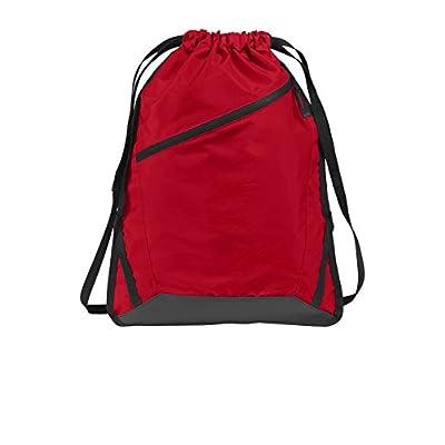 Tenacitee Bi /& Poly /& Single Royal Blue Brushed Canvas Messenger Bag