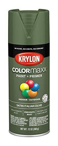 Krylon K05566007 COLORmaxx Spray Paint, Aerosol, Italian Olive ()