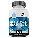 EBYSU BCAA Branched Chain Amino Acid Supplement - Boosts Muscle Growth, Athletic Performance