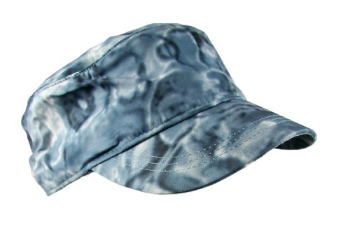 Aqua Design SunGuard Skyward Camouflage Sun Protection Fishing Military Cap, Misty Sky