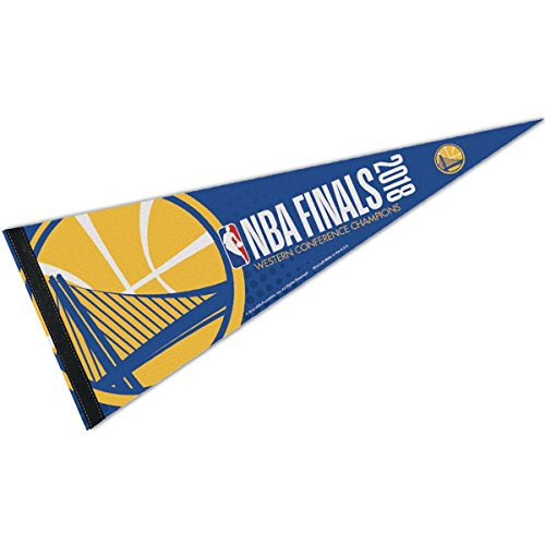 WinCraft Golden State Warriors 2018 Western Confernce Champions Pennant Flag by WinCraft