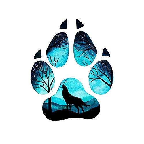 KTTO Nuevo diseño Mystic Forest Footprint Fake Tattoo Brazo ...