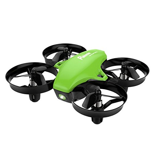 Mini Drone, Potensic A20 Altitude Hold Quadcopter Drone 2.4G 6 Axis Headless Mode Remote Control Nano Quadcopter for Beginners – Green