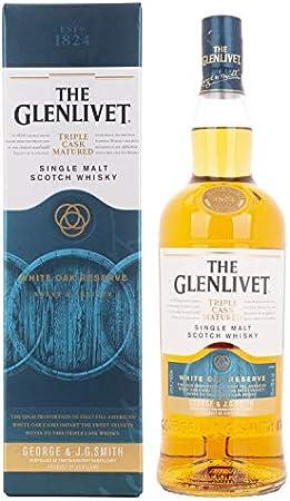 Glenlivet The Master Distiller's Reserve Solera Vatted Single Malt Scotch Whisky - 1000 ml