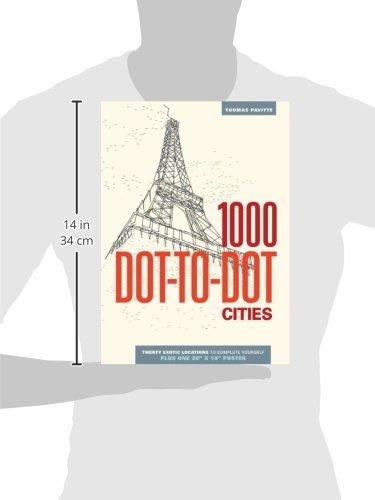 Amazon.com: 1000 Dot-to-Dot: Cities (8601419694792): Thomas ...