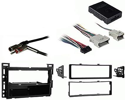 amazon.com: compatible with pontiac g5 2005 2006 2007 2008 2009 2010 single  din stereo harness radio install dash kit package: car electronics  amazon.com
