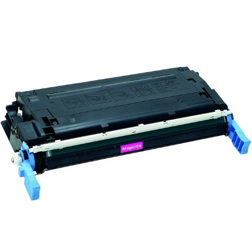 HI-VISION HI-YIELDS ® Remanufactured Toner Cartridge Replacement for Hewlett-Packard Q6473A (Magenta)