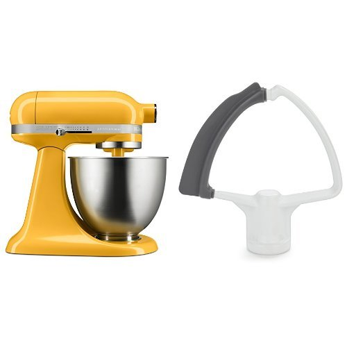 kitchenaid artisan mixer orange - 3