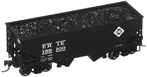 - Bachmann Industries 159100 55 Ton 2-Bay USRA Outside Braced Hopper with Removable Load Erie Car, HO Scale
