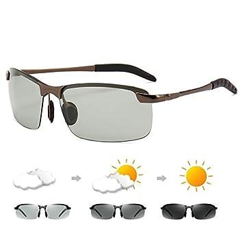 Mjia sunglasses Gafas Deportivas Hombre,Gafas de Sol Pueden Cambiar de Color, Gafas de